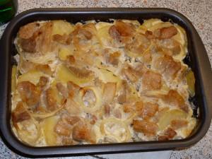 рецепт свинины с картофелем