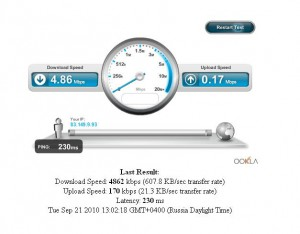 скорость 3g интернета