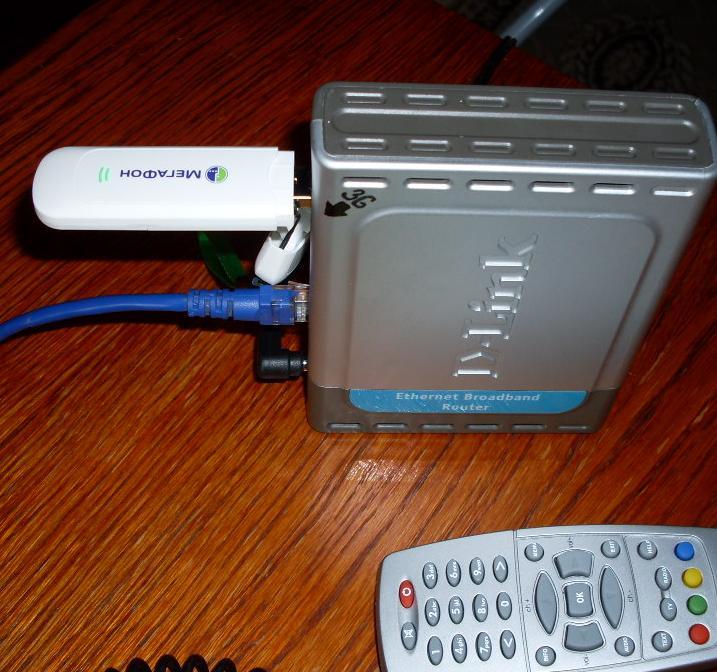 подсоединение 3G модема к dir-120 di-604up роутеру
