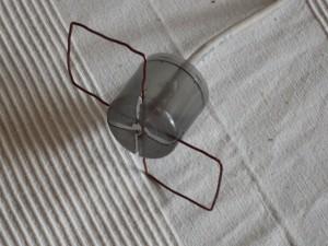 соединение провода с антенной
